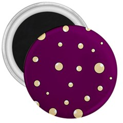 Purple and yellow bubbles 3  Magnets