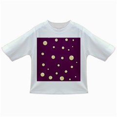 Purple and yellow bubbles Infant/Toddler T-Shirts