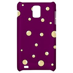 Purple and yellow bubbles Samsung Infuse 4G Hardshell Case