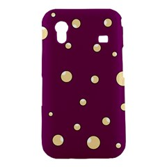 Purple and yellow bubbles Samsung Galaxy Ace S5830 Hardshell Case