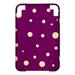 Purple and yellow bubbles Kindle 3 Keyboard 3G