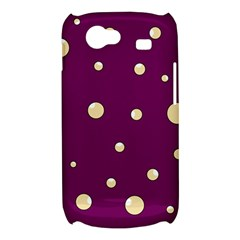 Purple and yellow bubbles Samsung Galaxy Nexus S i9020 Hardshell Case