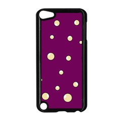 Purple and yellow bubbles Apple iPod Touch 5 Case (Black)