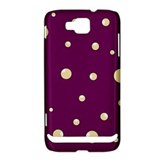 Purple and yellow bubbles Samsung Ativ S i8750 Hardshell Case