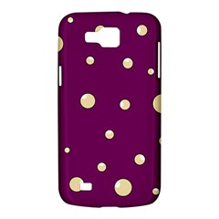 Purple and yellow bubbles Samsung Galaxy Premier I9260 Hardshell Case