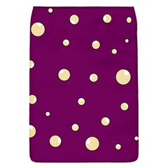 Purple and yellow bubbles Flap Covers (S)