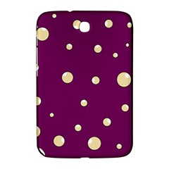 Purple and yellow bubbles Samsung Galaxy Note 8.0 N5100 Hardshell Case