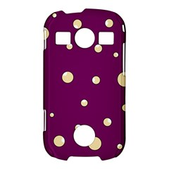 Purple and yellow bubbles Samsung Galaxy S7710 Xcover 2 Hardshell Case