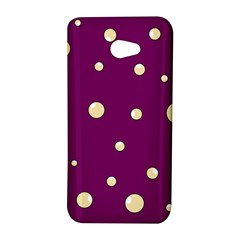 Purple and yellow bubbles HTC Butterfly S/HTC 9060 Hardshell Case