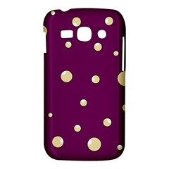 Purple and yellow bubbles Samsung Galaxy Ace 3 S7272 Hardshell Case