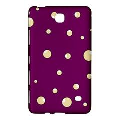 Purple and yellow bubbles Samsung Galaxy Tab 4 (7 ) Hardshell Case