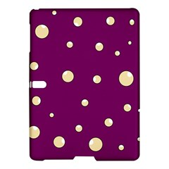 Purple and yellow bubbles Samsung Galaxy Tab S (10.5 ) Hardshell Case