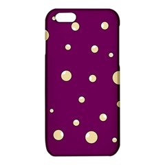 Purple and yellow bubbles iPhone 6/6S TPU Case