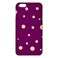 Purple and yellow bubbles iPhone 6 Plus/6S Plus TPU Case