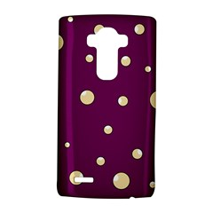 Purple and yellow bubbles LG G4 Hardshell Case