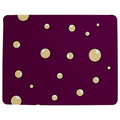 Purple and yellow bubbles Jigsaw Puzzle Photo Stand (Rectangular)