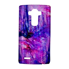 Purple Alcohol Ink Abstract Lg G4 Hardshell Case
