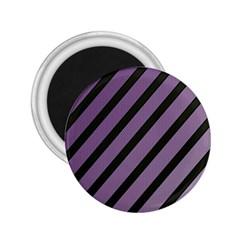 Purple elegant lines 2.25  Magnets