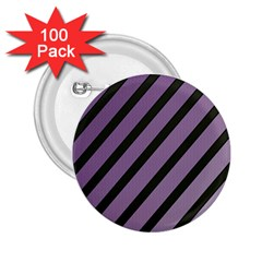 Purple elegant lines 2.25  Buttons (100 pack)