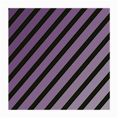Purple elegant lines Medium Glasses Cloth (2-Side)