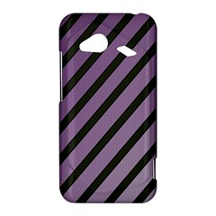 Purple elegant lines HTC Droid Incredible 4G LTE Hardshell Case