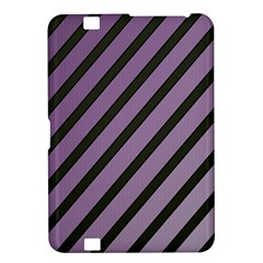 Purple elegant lines Kindle Fire HD 8.9