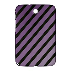 Purple elegant lines Samsung Galaxy Note 8.0 N5100 Hardshell Case