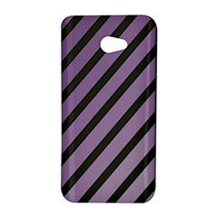 Purple elegant lines HTC Butterfly S/HTC 9060 Hardshell Case