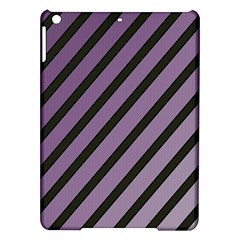 Purple elegant lines iPad Air Hardshell Cases