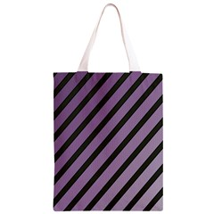 Purple elegant lines Classic Light Tote Bag
