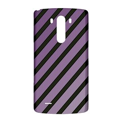 Purple elegant lines LG G3 Back Case
