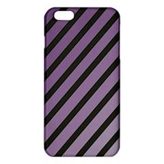 Purple elegant lines iPhone 6 Plus/6S Plus TPU Case