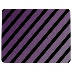 Purple elegant lines Jigsaw Puzzle Photo Stand (Rectangular)