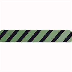 Green elegant lines Small Bar Mats