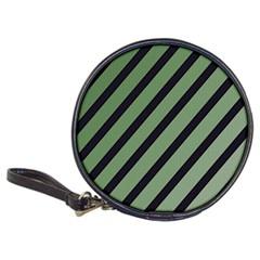 Green elegant lines Classic 20-CD Wallets