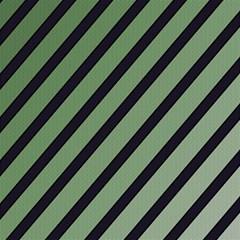 Green elegant lines Magic Photo Cubes