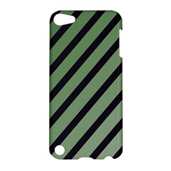 Green elegant lines Apple iPod Touch 5 Hardshell Case