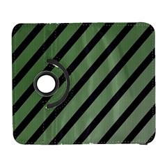 Green elegant lines Samsung Galaxy S  III Flip 360 Case