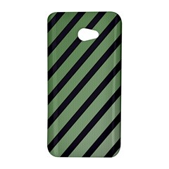 Green elegant lines HTC Butterfly S/HTC 9060 Hardshell Case