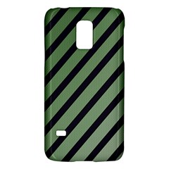Green elegant lines Galaxy S5 Mini
