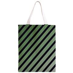 Green elegant lines Classic Light Tote Bag