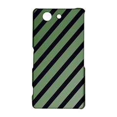 Green elegant lines Sony Xperia Z3 Compact