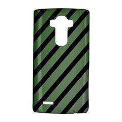 Green elegant lines LG G4 Hardshell Case