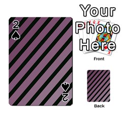 Elegant lines Playing Cards 54 Designs