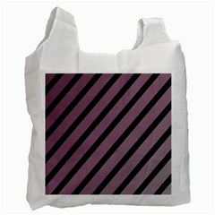 Elegant lines Recycle Bag (Two Side)
