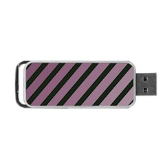 Elegant lines Portable USB Flash (Two Sides)