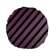 Elegant lines Standard 15  Premium Round Cushions