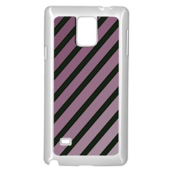 Elegant lines Samsung Galaxy Note 4 Case (White)