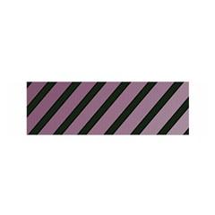 Elegant lines Satin Scarf (Oblong)