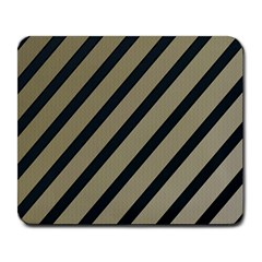 Decorative elegant lines Large Mousepads